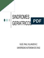 Sindromes Geriatricos Clase 3 R. VILLANUEVA