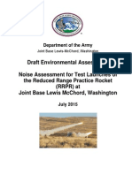 RRPR Test Draft Environmental Assessment