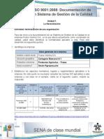 Actividad de Aprendizaje Unidad 1-La Normalizacion de Una Organizacion MIGUEL ORTIZ SARMIENTO