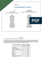 NYLS Loan Report Q3 2013