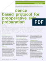 An Evidence Based Protocol for Preoperative Skin Preparation