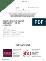 Medellin Gourmet