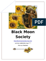 Black Moon Society.lammas Newsletter