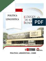 POLITICA  LINGÜÍSTICA COAR HUANCAVELICA OK - copia 2.docx