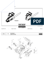 DOLMAR Parts Manual for Chainsaw Models: PS-33 100, 100s, 102