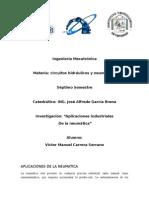 Investigación Aplicaciones Industriales de La Neumatica