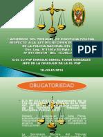 Acuerdos Del Tribunal de Disciplina Policial