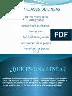 Tipos y Clases de Lineas 2