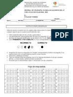Examen Semestral FILOSOFIA