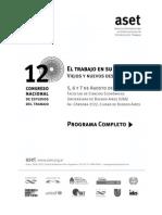 Programa completo 12° Congreso