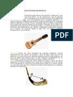 Instrumentos Autoctonos de Bolivia