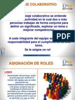 Roles en El Trabajo Colaborativo y Entregables
