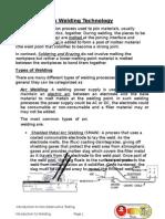 Introduction Basic Welding Technology