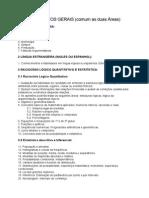 Lista de Estudo APO