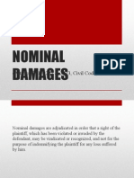 NOMINAL DAMAGES.ppt