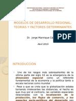 Modelos de Desarrollo Regional