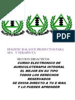 Catalogo Holistic Balance Cursos 2013