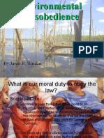 PHIL306 Enviromenta Disobedience Presentation