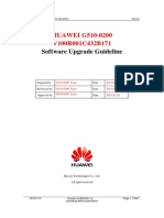 HUAWEI G510-0200 V100R001C432B171 Upgrade Guideline