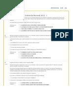 Evaluaciones Nacionales Epistemologia