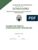 Reglamento DUEPS 2014