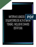 Materiais Disjuntores