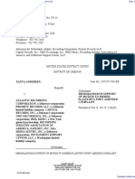 Andersen v. Atlantic Recording Corporation et al - Document No. 14