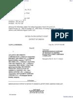Andersen v. Atlantic Recording Corporation et al - Document No. 14