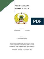 Presentasi Kasus IPD Abses Hepar