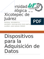 Dispositivos de Adquisicion de Datos