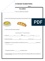 quick breads guided notes