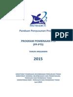 Panduan Penyusunan Proposal PP-PTS 2015