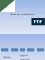 Sistemas de Telefonía