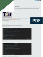 Instalar Configurar Tor Archlinux