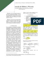 Trabajo de Señales y Sistemas ... Transformada de Hilbert y Wavelet