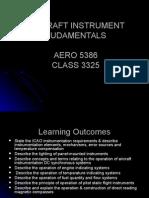 Aircraft Instrument Fudamentals