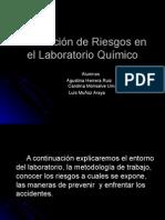 Prevención de Riesgos en El Laboratorio Químico