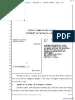 Jackson v. Gutierrz et al - Document No. 2