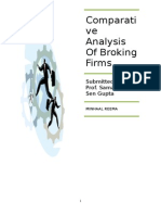 comparativeanalysisofbrokingfirms-110422110506-phpapp02