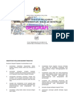 Huraian Sukatan Pelajaran Geografi t.2