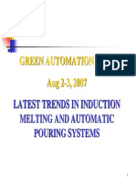 Latest Trends in Induction Melting and Automatic Pouring System