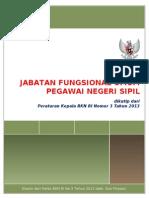Kamus Jabatan Fungsional Umum Berdasarkan Perka no 3 BKN 2013