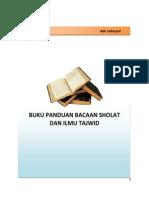 Buku Panduan Sholat Dan Tajwid