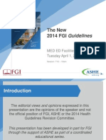 T12 the New 2014 FGI Guidelines - Meeting the Clients Needs