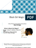 multimodal project  black girl magic