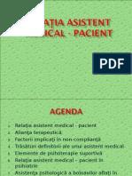 1. Relatia Asistent Medical - Pacient