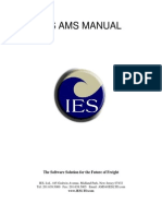 Ies Ams Manual for Nvocc