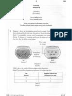 Percubaan UPSR 2015 - Muar - Sains Bahagian B