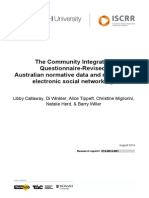 074 The Community Integration Questionnaire Report