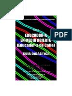 Guia Didactica curso Educador de Calle